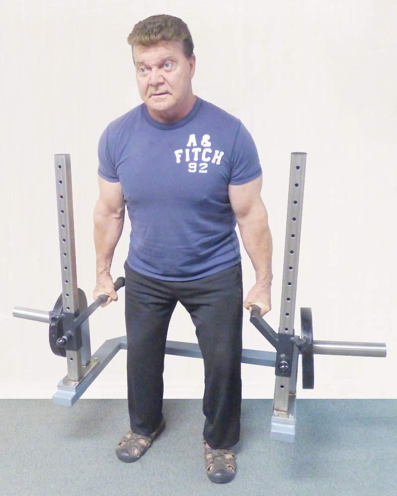 Squat-Shrug Plus