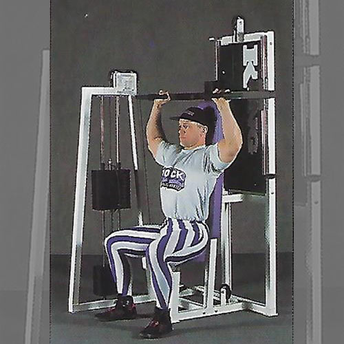 linear shoulder press