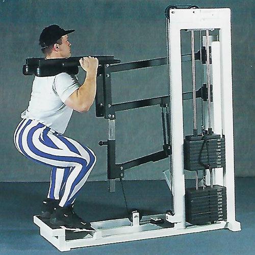squat-standing calf